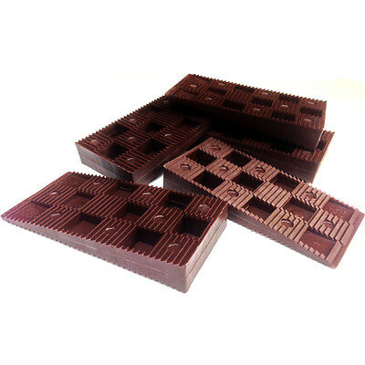 Wedgit® Brown Plastic Frame Packers Interlocking Levelling Decking Cladding