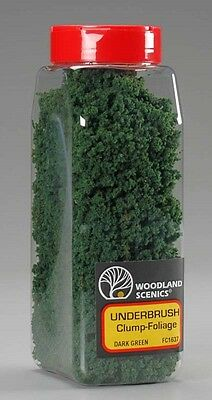 Woodland Scenics Underbrush Shaker Dark Green 32 oz FC1637