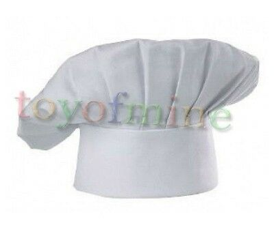 Professional Chef Hats Disposable White Paper Chef Hat POLY/COTTON