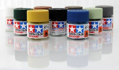 Tamiya Color Mini Acrylic Paint Gloss 10ml X-1 to X-35 81501 - 81535 Model Kit