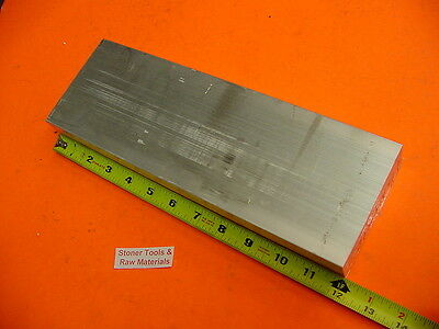 "1"" X 3"" ALUMINUM 6061 T6511 SOLID FLAT BAR 12"" long 1.00"" Plate NEW Mill Stock"