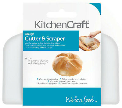Kitchen Craft Professional Heavy Duty Bread Dough Scraper, Lifter & Cutter