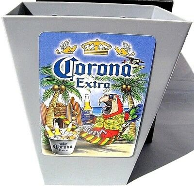 CORONA Mexican Beer Card & Bottle Cap Catcher  NEW IN BOX * Bar Pub * Cerveza