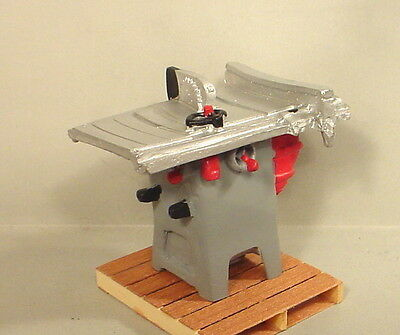 Table Saw Miniature 1/24 Scale G Scale Diorama Accessory Item