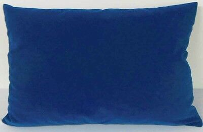Deep cobalt Suede Like Velvet Cushion Cover Case Made to Order #u17-cc-tp-56