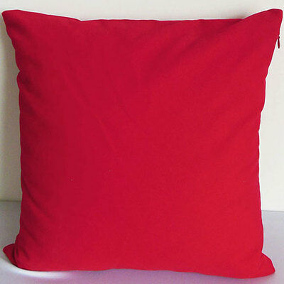 Red Suede Like Velvet Cushion Cover Case Made to Order #u17-cc-tp-46
