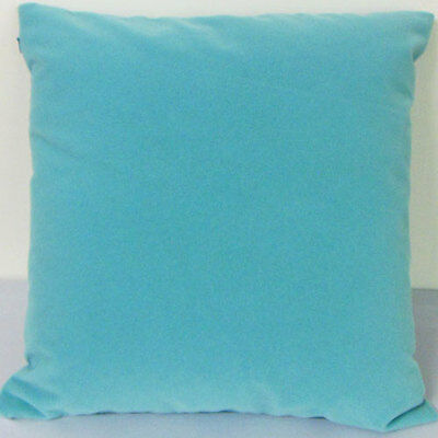 Water blue Suede Like Velvet Cushion Cover Case Made to Order #u17-cc-tp-15