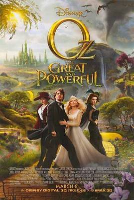 OZ THE GREAT AND POWERFUL -2013- Orig 27x40 2-Sided movie poster - JAMES FRANCO