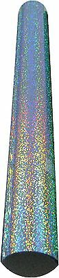 """SISER HOLOGRAPHIC Sky Blue roll 20"""" X 2 yards - Heat Press Vinyl for textile"""