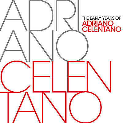CD Adriano Celentano The Early Years Best Of  2CDs