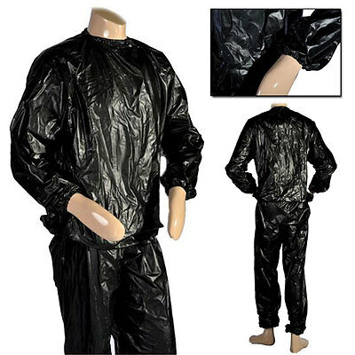 Fight Sauna Sweat Track Suit Slimming Weight Loss Fitness Exercise Gym Training