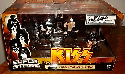 KISS Limited Edition Collectible Box Set Brand New!