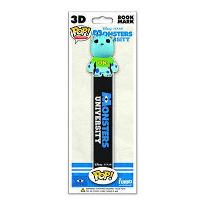 Funko POP! 3D Bookmark - Monster University - SULLEY (7 inch) - New