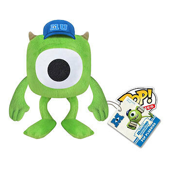 Funko POP! Plush - Monster University - MIKE WAZOWSKI (7 inch) (Monsters Inc)
