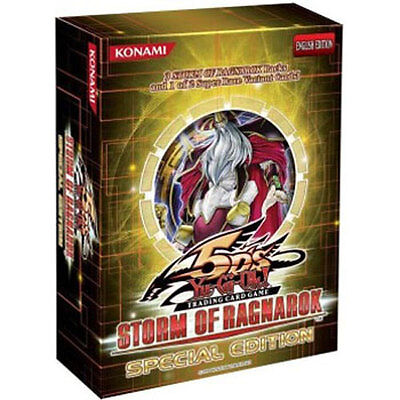 Yu-Gi-Oh Cards 5D's - Storm of Ragnarok *Special Edition* (3 Packs & Promo Card)