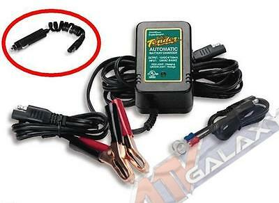 Deltran Battery Tender Jr. Junior 12V w/ Cig Lighter Adapter Kawasaki Teryx 750