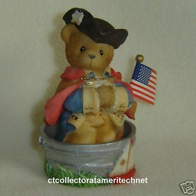 Cherished Teddies George - Hard to Find Used In Box