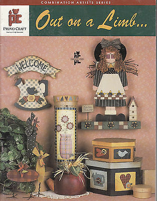 Out on a Limb- Provo Craft Tole Painting Book