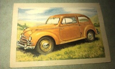 1951 FORD TAUNUS  Jacques Chocolates BELGIUM Trade Swap Card