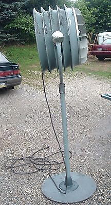 Huge Vintage Westinghouse Industrial Turbine Floor/Pedestal Fan