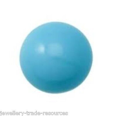 7.5mm Natural Turquoise Round Cabochon Gem Gemstone
