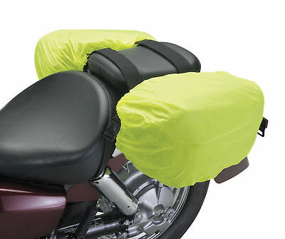 Deluxe Heavy Duty Motorcycle Saddle Bags Luggage Cargo