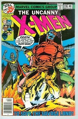 Uncanny X-Men #116 December 1978 FN