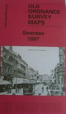 Old Ordnance Survey Maps Swansea Glamorgan 1897 Sheet 24.05 Brand New