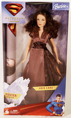 Barbie Lois Lane Doll - Collector from Superman Returns - New! - Vintage 2005