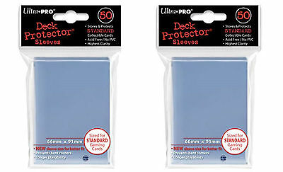 Ultra Pro Magic the Gathering 100 Deck Protectors Clear MTG Brand New!!!