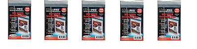 Ultra Pro Resealable One Touch Card Holder Sleeves 500 count lot Brand New Bags