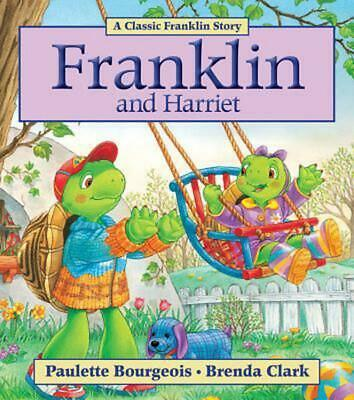 Franklin and Harriet by Paulette Bourgeois (English) Paperback Book Free Shippin