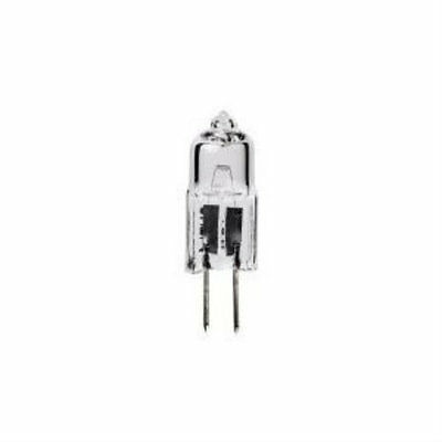 50-Watt G6.35 Bi-Pin Base JC Type 12-Volt Halogen Quartz T4 Light Bulb