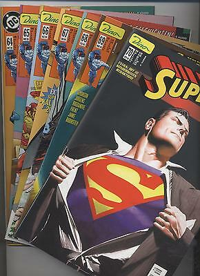 Superman # 64+65+66+67+68+69+70 - Dino Verlag 1999 / 2000  - Top
