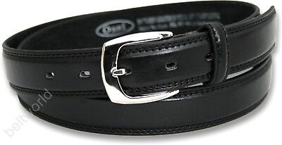 New Boys Childs Childrens Black Leather Lined Belt School Wedding Suit Nwt