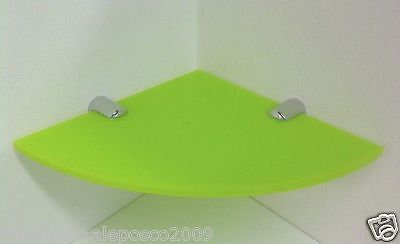 Plastic Acrylic Corner Shelf Funky Colours Ideal For Kitchen Bathroom & All Home