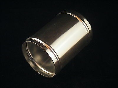 Aluminium Coupler Joiner Polished with Swagged Ends. Choice of diameter