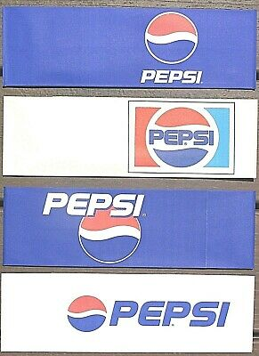 4 ~ Different Pepsi Cola Paper Soda Jerk Hats  Fountain Server  Ice Cream Social
