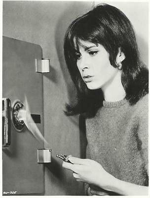 The Girl from U.N.C.L.E. Stephanie Powers Cracking Safe 8 x 10 Photo