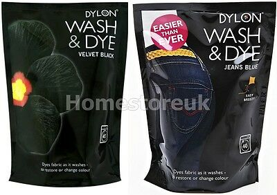 Wash And Dye Ready Dylon Fabric Machine Washing Clothes Changer N Restore Colour
