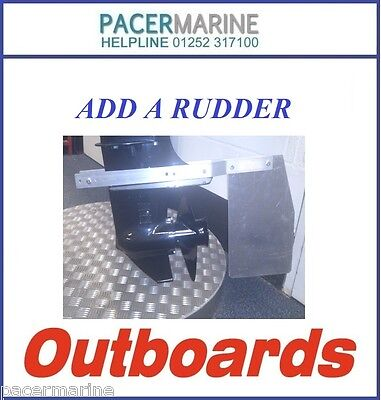Add A Rudder For Mariner Outboard Engine Motor Up-To 20Hp Steering