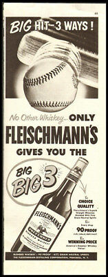 1944 vintage ad for Fleischmann's Blended Whiskey- 342