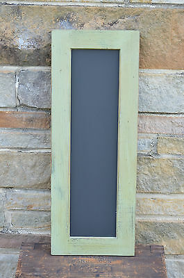 Primitive Elk Green Shaker Style Chalkboard /vertical Or Horizontal #2