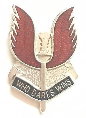 SAS Special Air Service Regiment of The British Army - MOD Approved Pin Badge