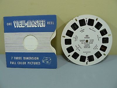 View-master 66 Hawaii The Orchid Island Copyright 1951