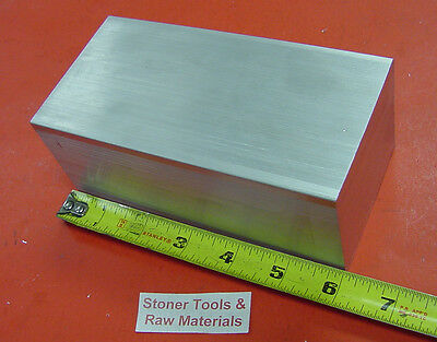 "2-1/2"" X 3"" ALUMINUM 6061 SOLID FLAT BAR 6"" long Solid Plate Mill Stock 2.50x3.0"