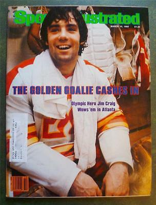 Sports Illustrated Golden Goalie Cashes In Olympic Hero Jim Craig March 10 1980