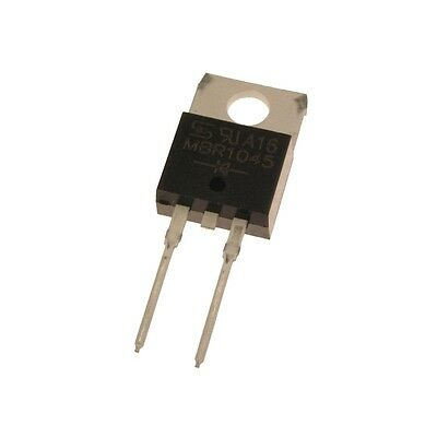 5 Schottky Barrier Rectifiers MBR1045 Gleichrichter Diode 10A 45V TO-220 078562