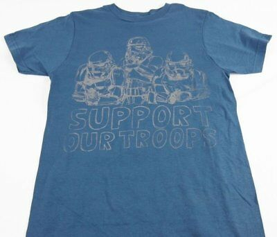 Mens NEW Star Wars Support Our Troops Storm Troop Logo Graphic T-Shirt Sz S M XL