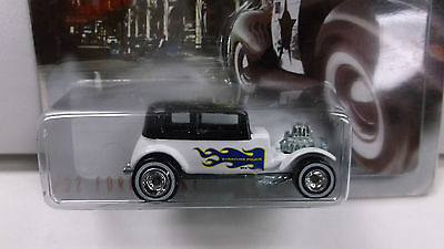 Hot Wheels Cop Rods Syracuse, NY '32 Ford Vicky in white w/ Real Riders
